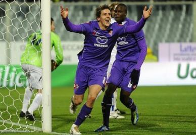 Stevan Jovetic, 9 gol in campionato (foto Infophoto)