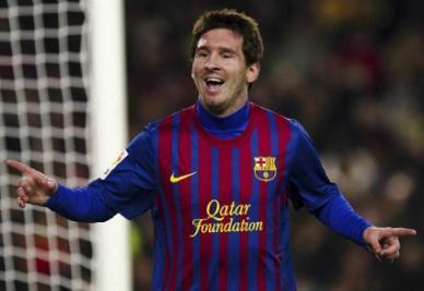 Leo Messi lunedì ha vinto il terzo Pallone d'Oro consecutivo (foto Infophoto)