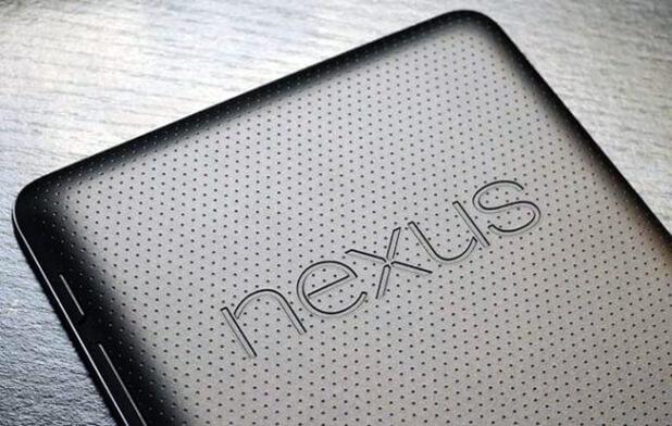 Il retro del primo Nexus 7