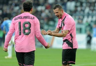 Pepe e Quagliarella (Infophoto)