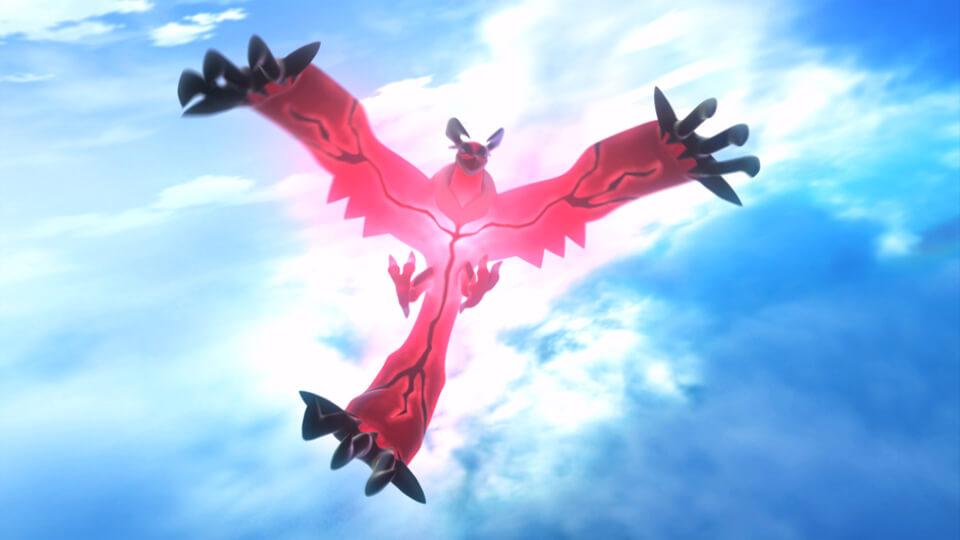 Yveltal, leggendario di Pokémon Y