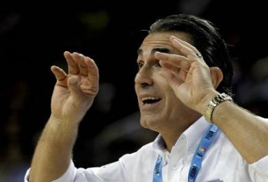 Sergio Scariolo (foto Infophoto)