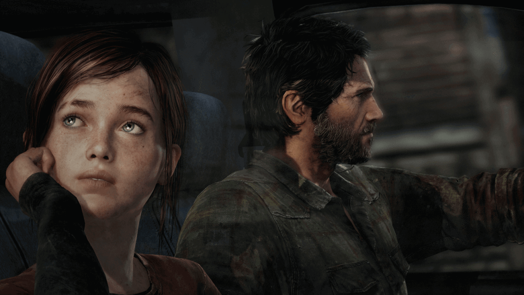 Joel ed Ellie, protagonisti di The Last of Us
