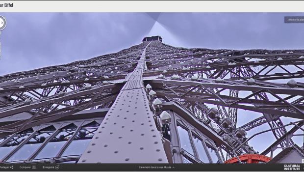 Tour Eiffel da Street View