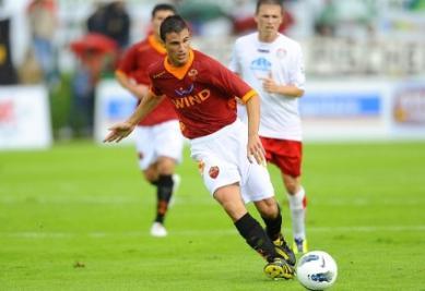 Valerio Verre, centrocampista della Roma (Infophoto)