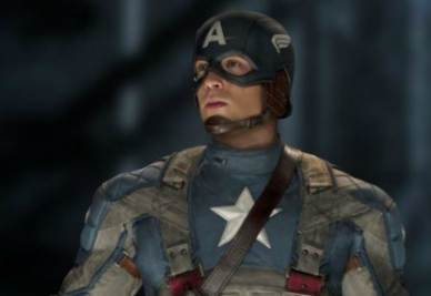 Una scena del film Captain America