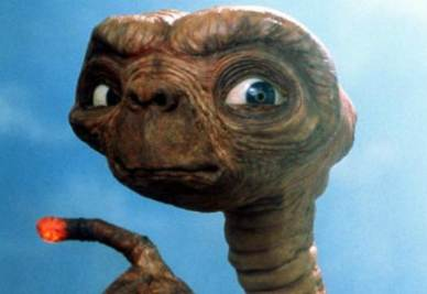 Et, l'alieno protagonista di un film