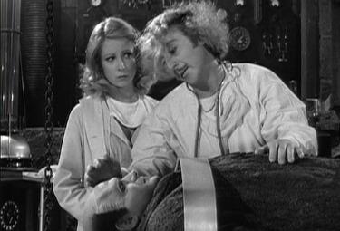 Una scena del film Frankestein Junior