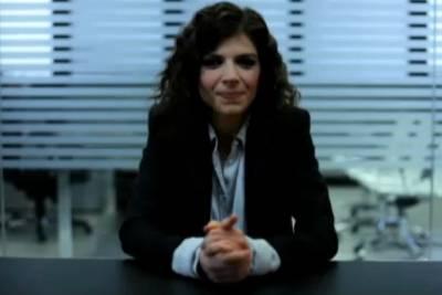 Sabrina Nobile, conduttrice del programma Il contratto
