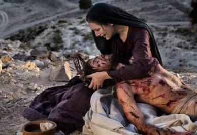 Una scena della fiction Maria di Nazaret