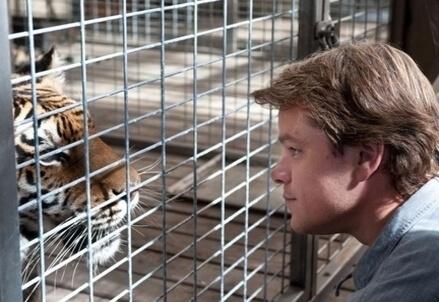 Una scena del film La mia vita è uno zoo