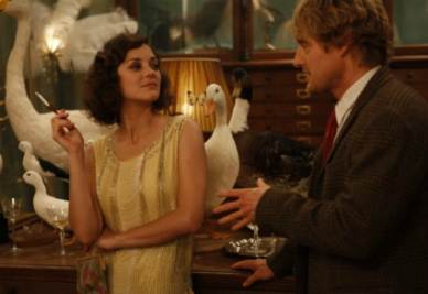 Una scena del film Midnight in Paris