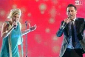 Emma Marrone sul palco di Sanremo