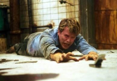 Una scena del film Saw - L'enigmista