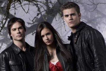Stefan, Elena e Damon