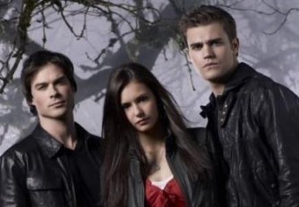 Damon, Elena e Stefan