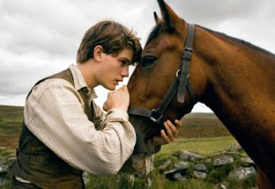 Una scena del film War Horse