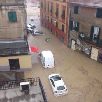 Le immagini dell'alluvione