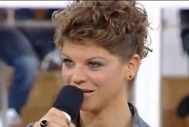 Alessandra Amoroso alla prima puntata di Amici 10