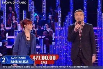 Annalisa con Christian De Sica