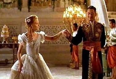 Una scena di Anna e il Re