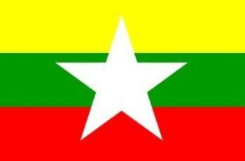 La nuova bandiera della Birmania