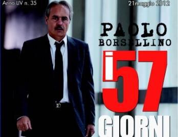 Luca Zingaretti interpreta Paolo Borsellino (Uff.stampa Rai)