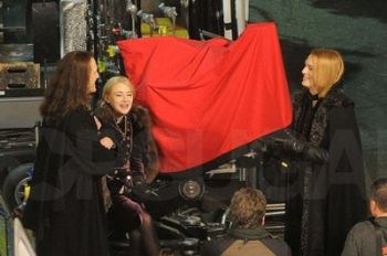 I Volturi sul set di Breaking Dawn
