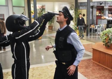 La rapina al centro commerciale