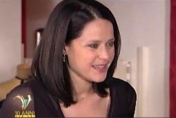 Melania Maccaferri, storico volto della soap