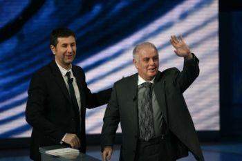 Fabio Fazio e Daniel Barenboim
