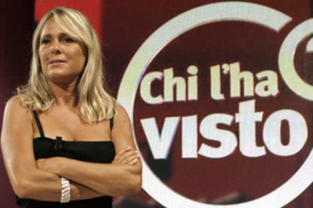 Federica Sciarelli, conduttrice di Chi l'ha visto?