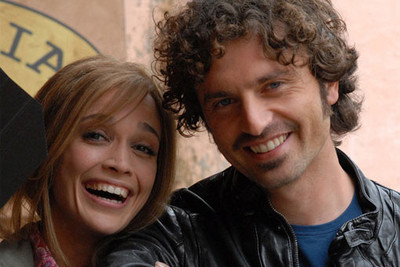 Roberta Giarrusso e Guido Caprino