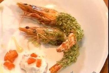 Un antipasto di pesce da abbinare all'orata