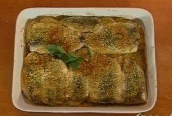 Il tortino di Alici preparato da Benedetta Parodi