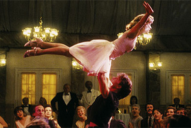 Una scena di Dirty Dancing