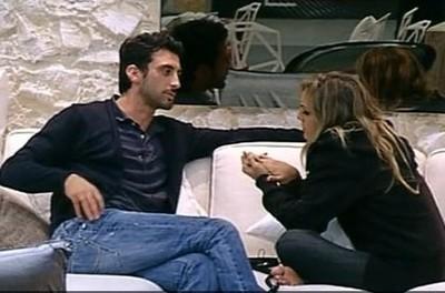 Ferdinando Giordano con la ex Angelica Livraghi