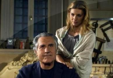 Lando Buzzanca e Martina Colombari