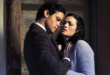 Gabriel Garko e Manuela Arcuri in Il peccato e la vergona