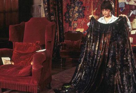 Harry Potter mantello invisibile
