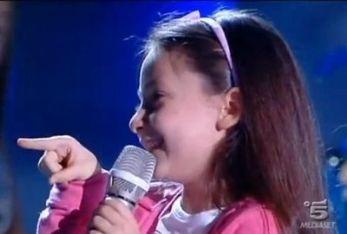 Sara Musella, protagonista del baby talent