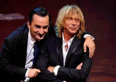 Nicola Savino ed Enzo Paolo Turchi