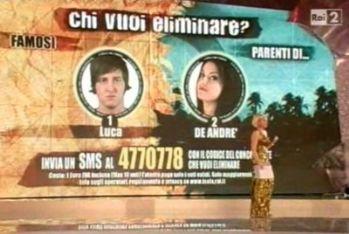 I nominati Dirisio e De Andrè