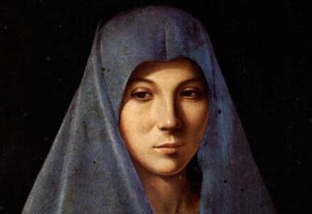 La Madonna rappresentata da Antonello da Messina