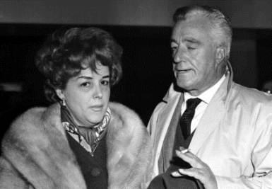 Maria Mercader e Vittorio De Sica