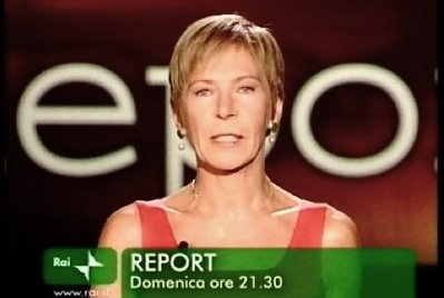 Milena Gabanelli conduttrice di Report