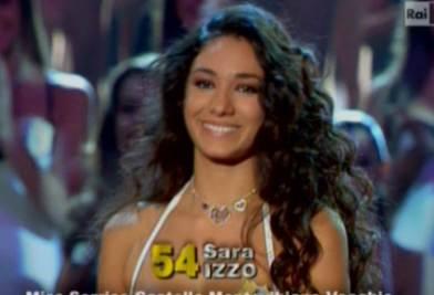Sara Izzo, Miss sorriso 2011 e finalista