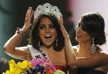Jimena Navarrete, Miss Universo 2010 (Ansa)