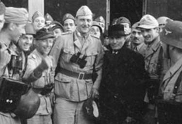Benito Mussolini dopo l'Operazione Quercia