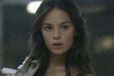 Giorgia in un frame della terza puntata